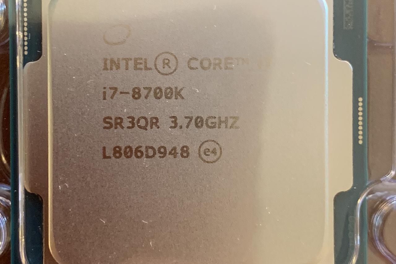 Delid Intel Coffee Lake i7 8700K